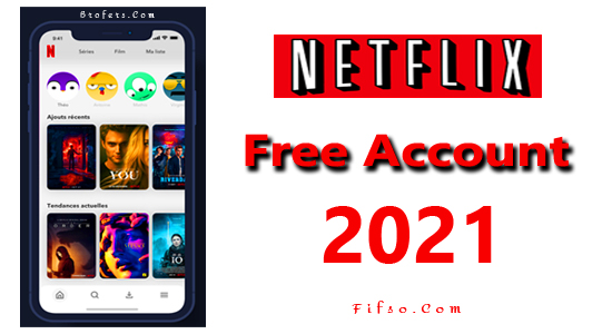 Free Netflix Account List 2021