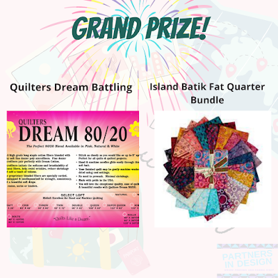 Grand prize for Destination: Quilt Along