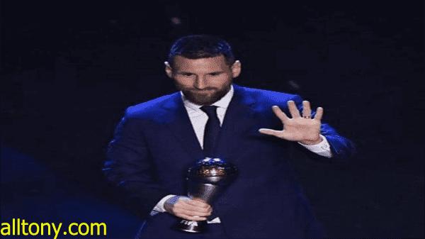 جوائز الفيفا ذا بيست 2019.. ليونيل ميسي أفضل لاعب في العالم