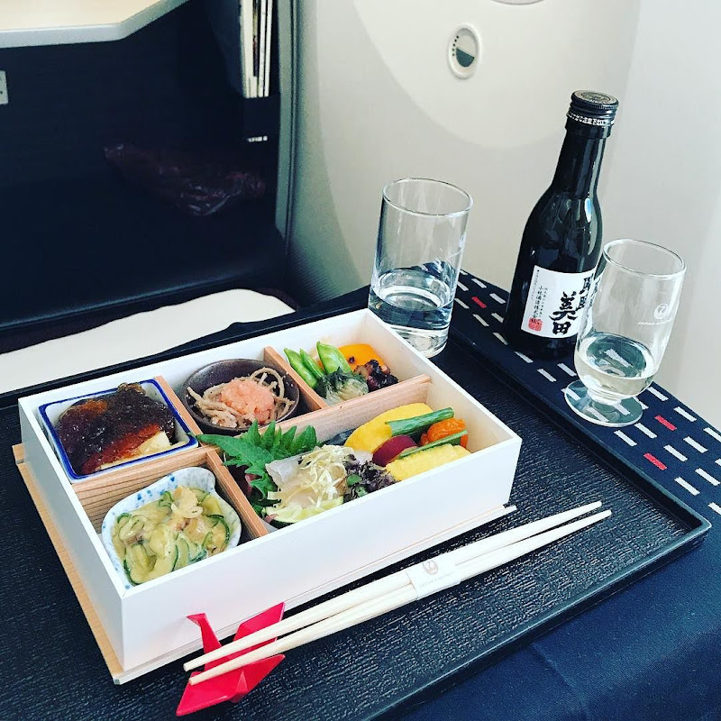 2017-06-14: 機内食:JAL413(JL413) 東京・成田=ヘルシンキ(NRT=HEL) ビジネスクラス10:30-14:50 (2017年06月) | JALマイル修行