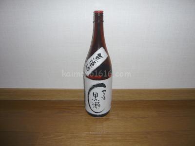 【鹿児島のお酒】鹿児島酒造・無濾過やきいも黒瀬1,800ml