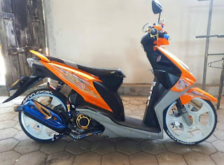 Modifikasi Honda Beat 2020