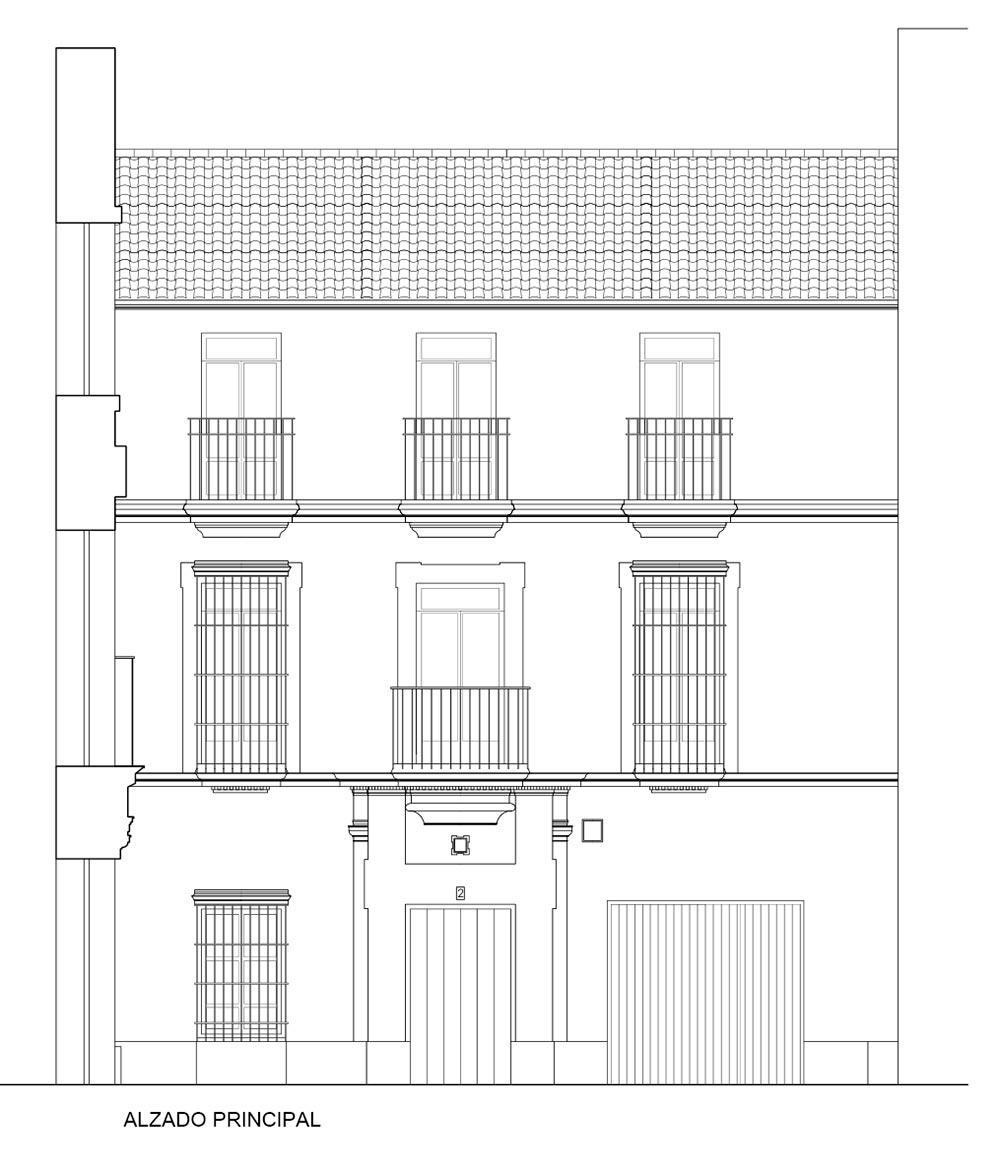 Estudio Honorio Aguilar - Edificio Barrio de la Juderia (C/ San Bartolomé)