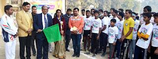 Jaunpur  सेण्ट जेवियर स्कूल ने करायी हाफ मैराथन दौड़ व फन रन प्रतियोगिता