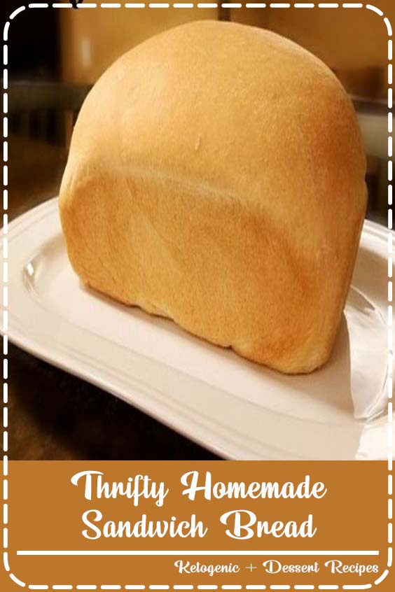 Save Money with this frugal bread recipe Thrifty Homemade Sandwich Bread
