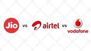 रिलायंस जियो VS एयरटेल VS वोडाफोन: 199 रुपये में हर दिन 1 जीबी डेटा,अनलिमिटेड कॉल। - Vapi Medi News