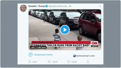 Twitter Marked The Tweet Of Donald Trump As 'Manipulated Media'