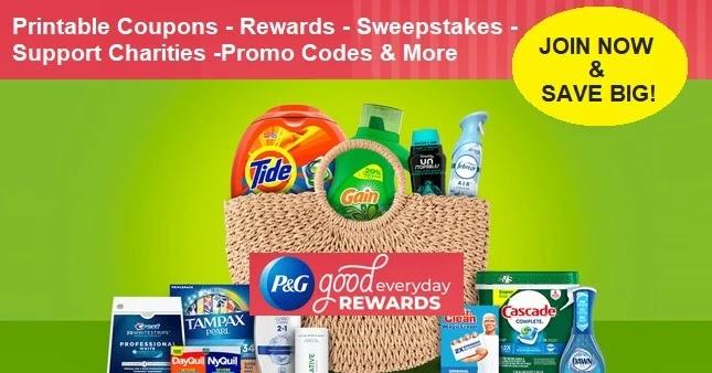 PG Good Everyday Coupons & Rewards