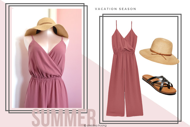 How To Style Aritzia Wilfred Melodie Jumpsuit in Apple Butter in Different Ways Summer Vacation Season. Aritzia Azure Skies Eau Claire Hat Natural Brown. Target Mad Love Adama Multi Strap Black Thong Sandals