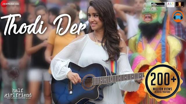 Dil Bharta Nahi Aankhein Rajti Nahi Lyrics in English– Half Girlfriend