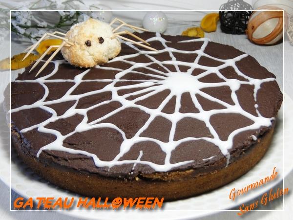 Gâteau Halloween butternut-cannelle sans gluten sans lactose