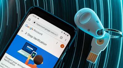 استخدام, هاتف, اندرويد, كمفتاح, أمان, لخدمات, جوجل