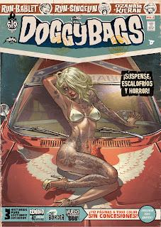 DOGGY BAGS 2  Comic Americano de RUN, Guillaume Singelin, Kieran, Mathieu Bablet  y Antoine Ozanam Reseña de Doggy Bags desde Dibbuks editorial