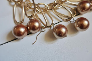 Łańcuchowa biżuteria diy łańcuchy naszyjnik bransoletka diy