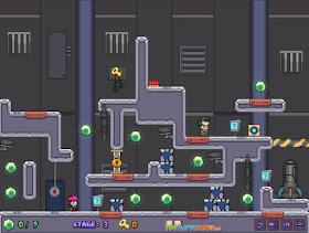 Jogue Space Prison Escape two player games
