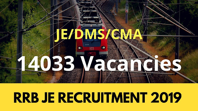 Railway JE Recruitment 2018: 14,033 Vacancies