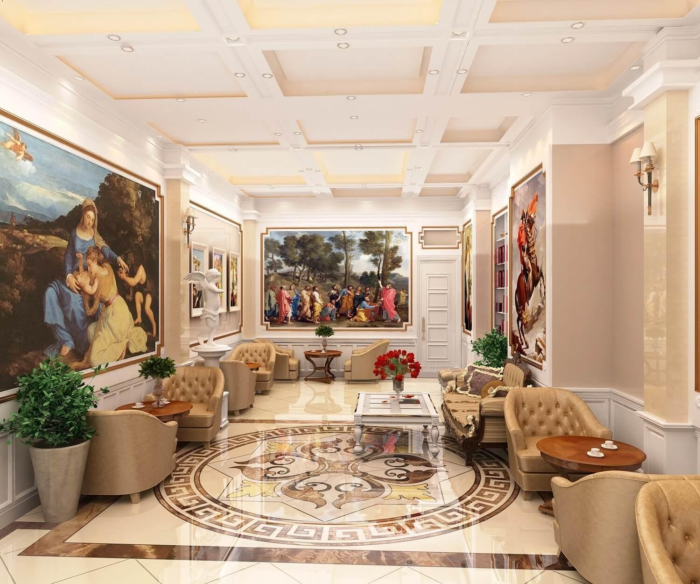 Nội thất xa hoa của dự án căn hộ chung cư D'eldorado Phú Thanh.