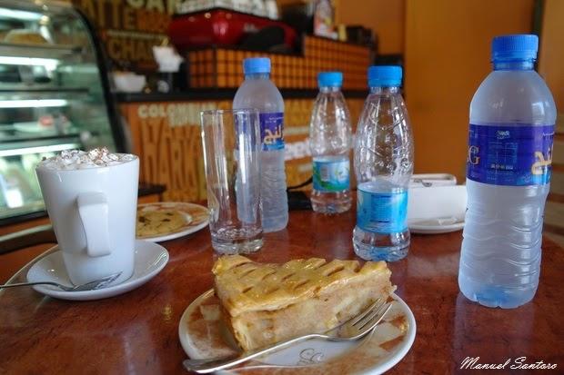 Doha, colazione nel Souq Waqif