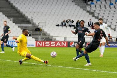 ملخص واهداف مباراة مانشستر سيتي ومارسيليا (3-0) دوري ابطال اوروبا