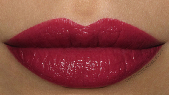Burberry Lip Velvet Lipstick 425 Damson Review Swatches