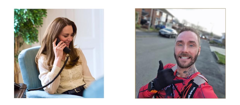 ,,Hold Still'' - rozmowa księżnej Kate z Jasonem Bairdem