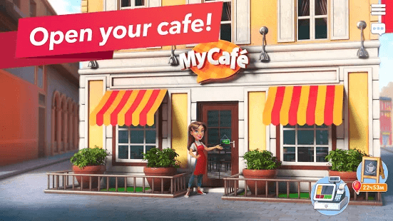 My Cafe Restaurant Stories Mod Apk Download [ Unlimited Money+ No Ads+ Free Cash and Skins]