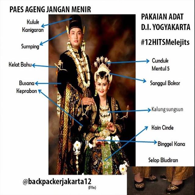 Pakaian Adat Provinsi Daerah Istimewa Yogjakarta – Pakaian Adat Tradisional Kesatrian