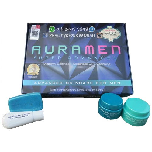 AuraMen Skincare 4in1