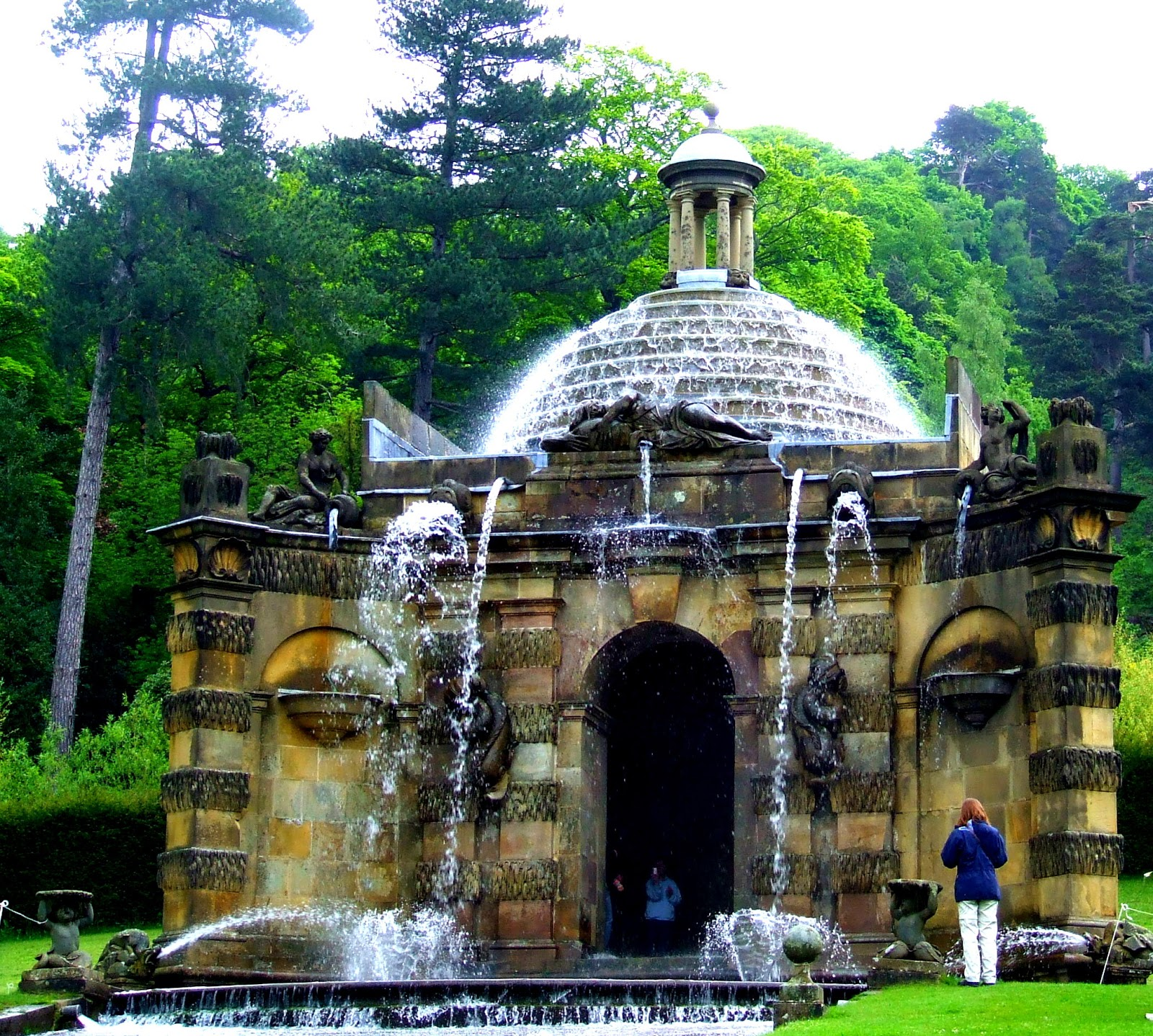 Chatsworth 3 Piece Traditional White Suite: Loveisspeed.......: Chatsworth House And The Amazing Art