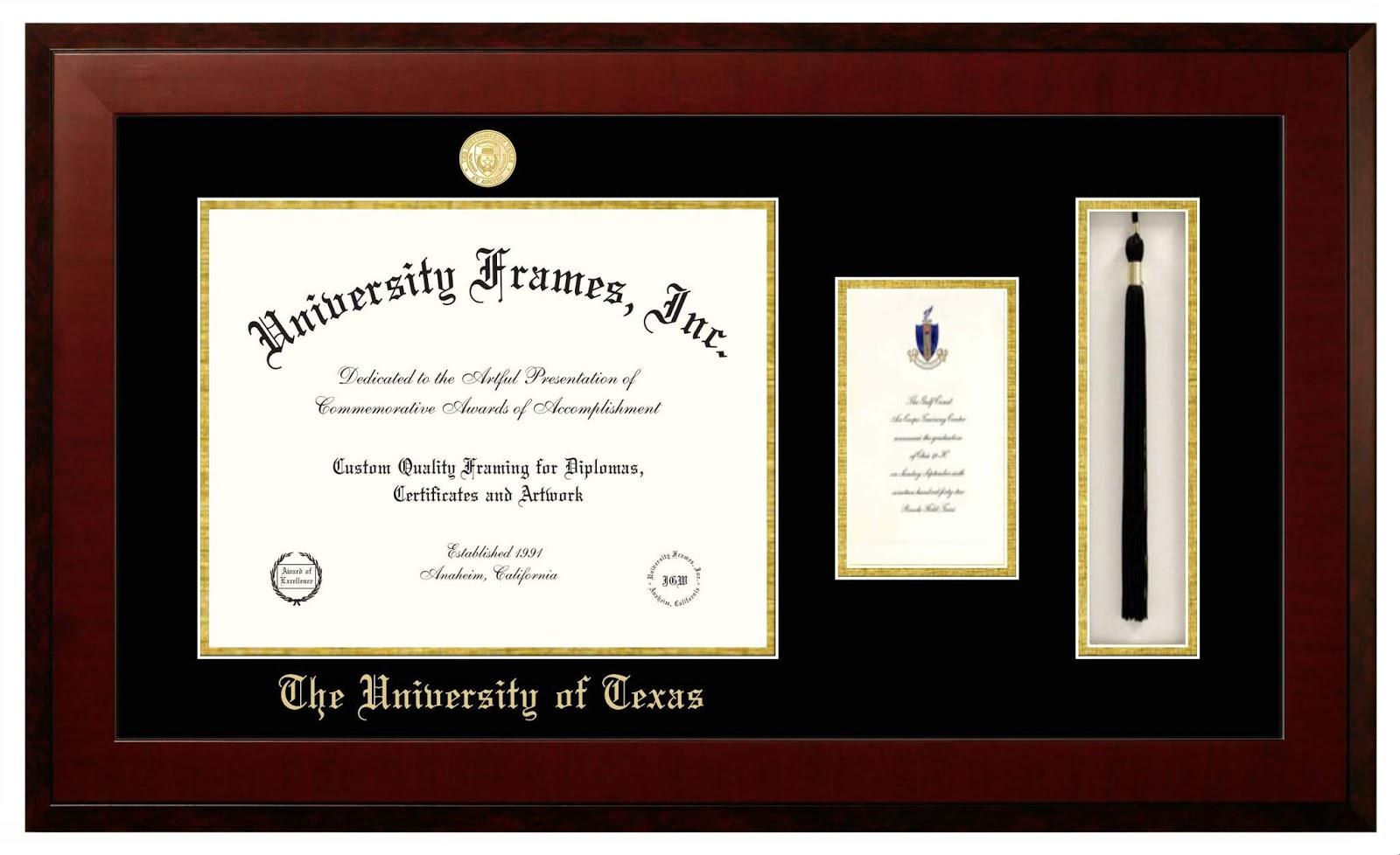 University Frames Inc. - Custom Diploma Frames