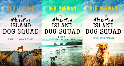 The Island Dog Squad Series by Deb McEwan on Amazon