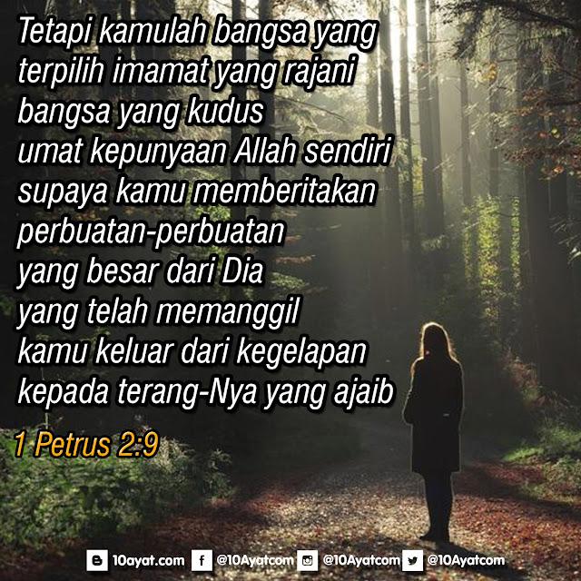 1 Petrus 2:9