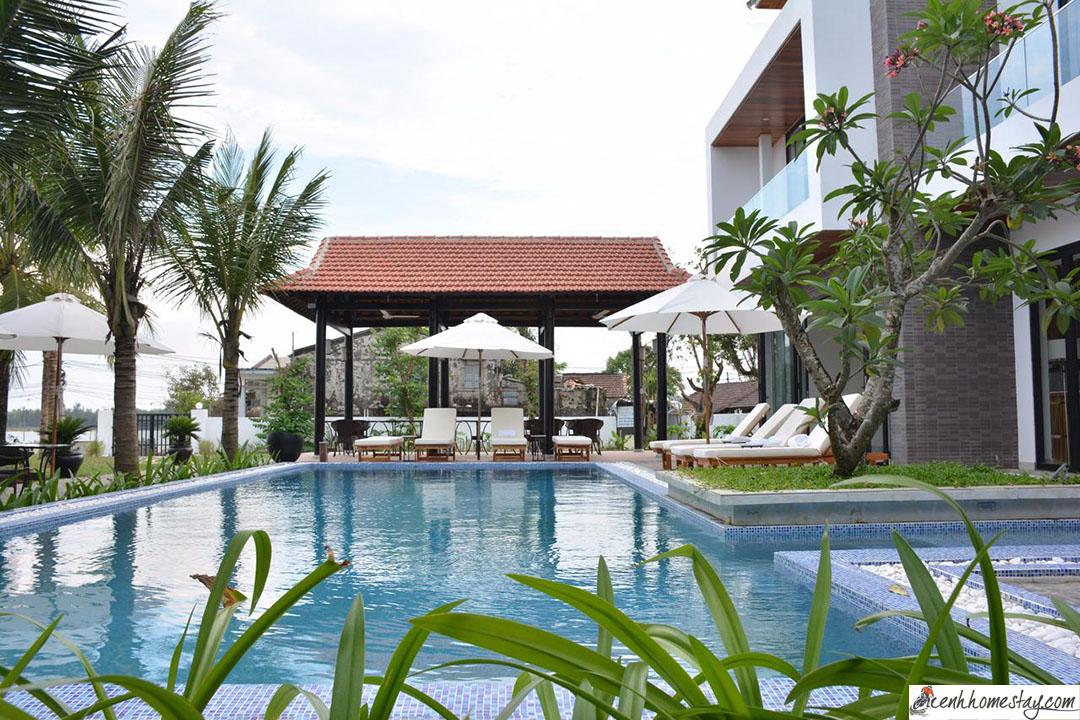 30 Biệt thự Villa Hội An giá rẻ đẹp cho thuê nguyên căn gần biển có hồ bơi