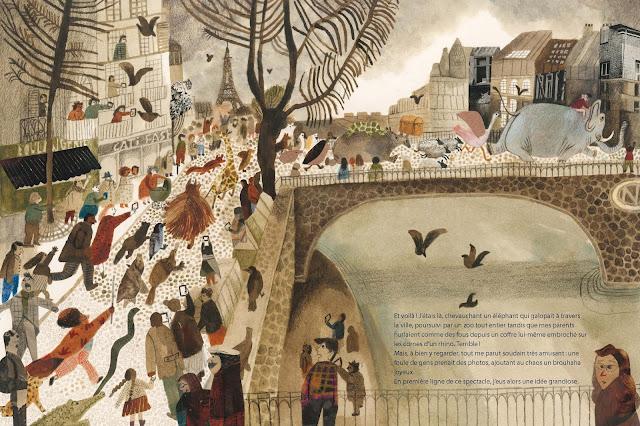 Le fabuleux désastre d'Harold Snipperpott - Béatrice Alemagna - Albin Michel - 2018