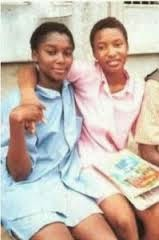 Tonto Dikeh in her secondary school days