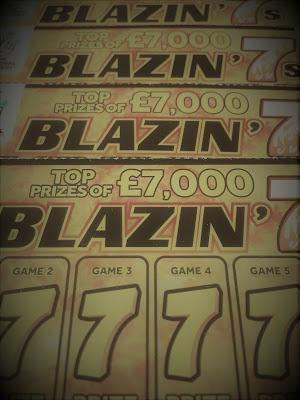 Blazin' 7s Scratchcards