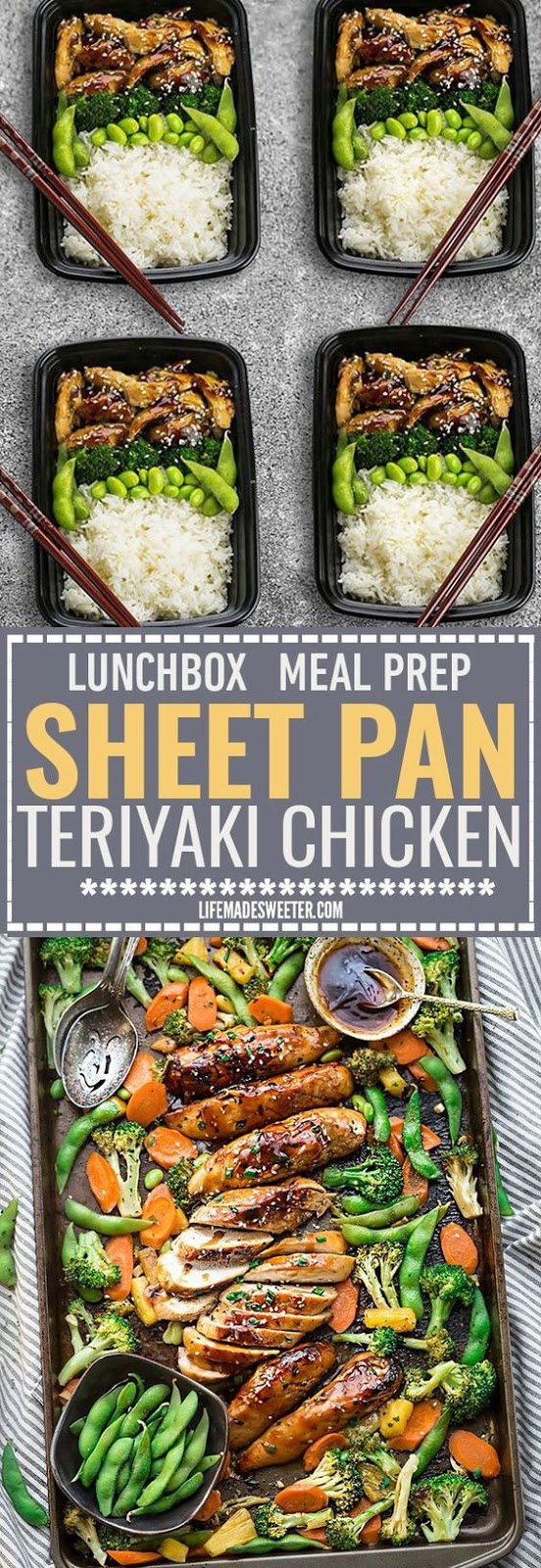 One Pan Teriyaki Chicken with Vegetables