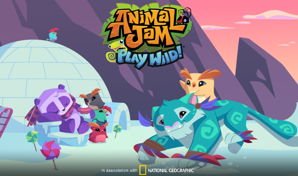 Image of: Glitch Here Is This Months Winter Themed Loading Screen Featuring Snow Leopards And The Adorable Pet Pekin Roosters To End This Update Post Ajhq Themselves Have Animal Jam Spirit Blog Animal Jam Spirit Blog Play Wild Snow Leopards Chinese New Year