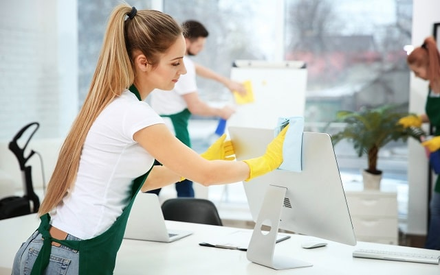commercial office cleaning services