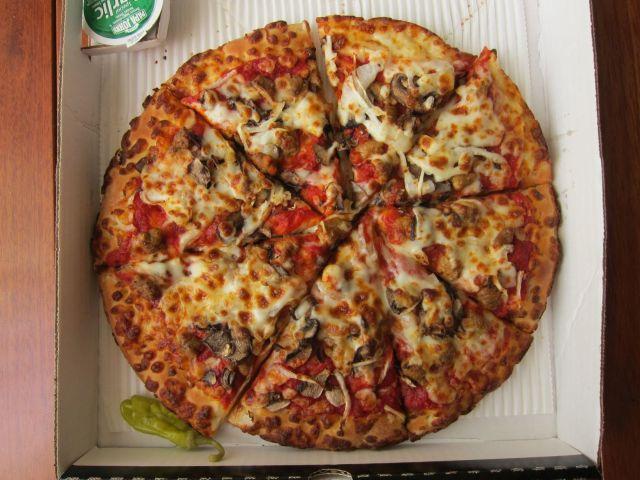 Review: Papa John's Pan Pizza   Brand Eating