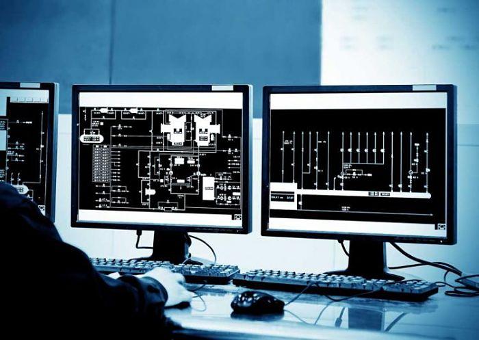Simulador de procesos comercial en ejecución
