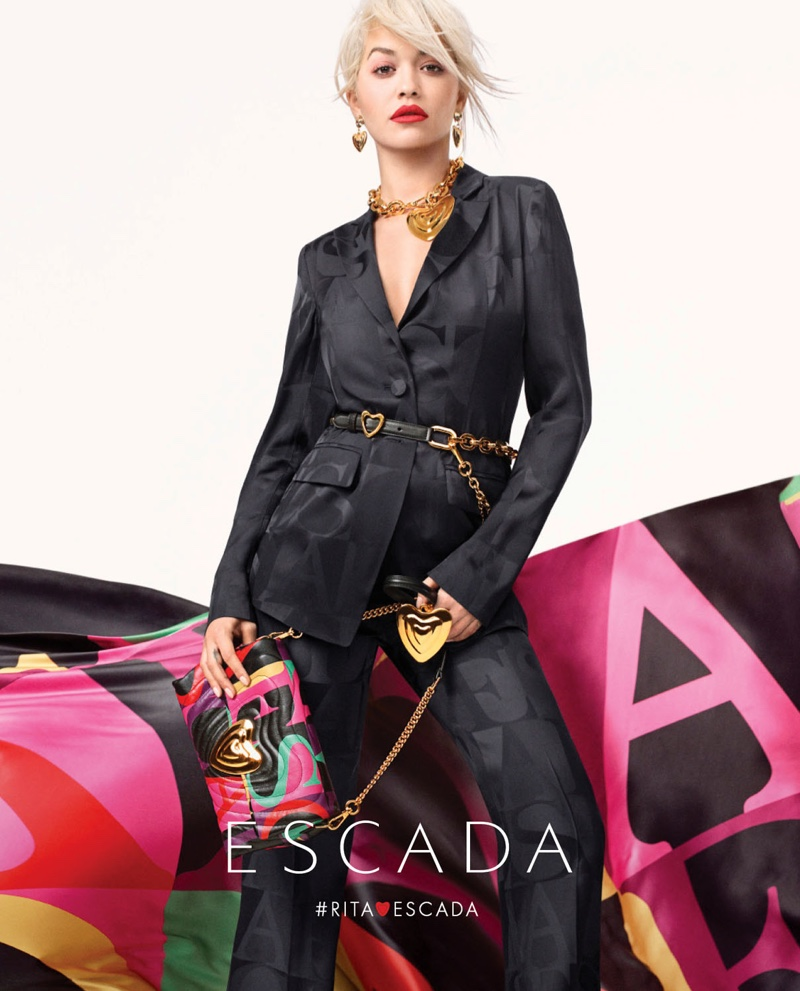 Rita Ora for Escada Spring/Summer 2019
