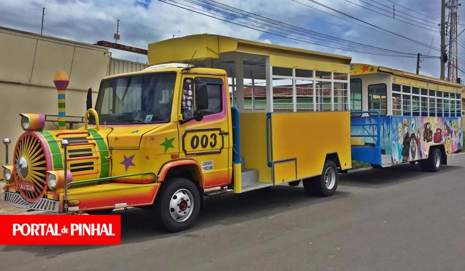 Trenzinho Expresso da Alegria chega nesta sexta-feira em Espírito Santo do Pinhal