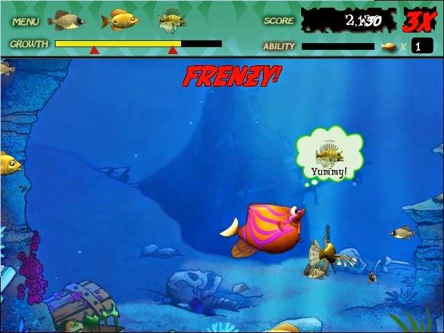 تحميل لعبة السمكة الشقية 2019 Feeding Frenzy مجانا اخر تحديث