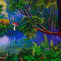 WowEscape-Magic Fantasy Flower Forest Escape