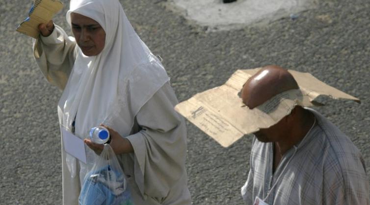 Jamaah Haji Diimbau Pakai Sandal Hindari Kaki Melepuh