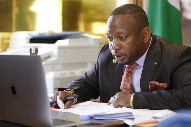 MCAs allied to Nairobi Governor Mike Sonko Photo