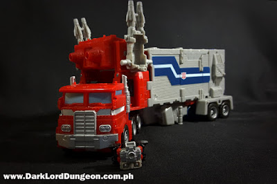 Super Ginrai Truck mode with Ginrai