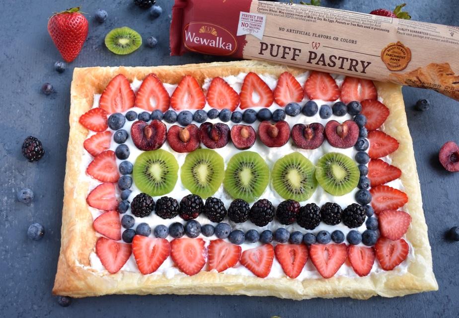 Fruit pizza crust