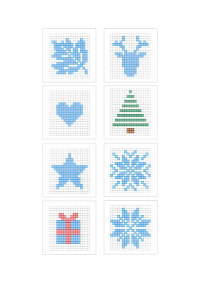 cross stitch template
